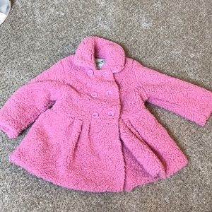 Other - Pink size 4T coat with buttons